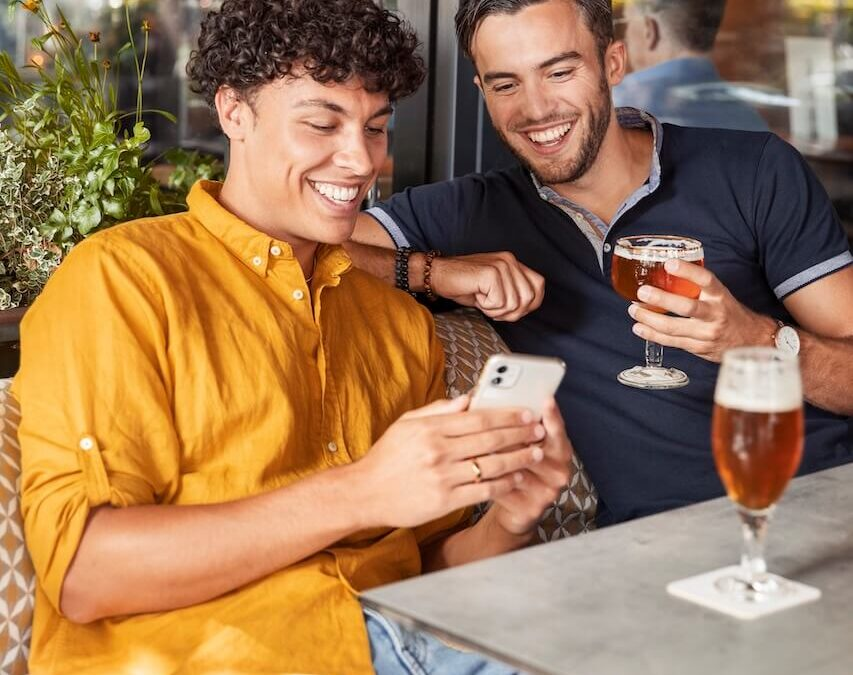 Boy's bday & beers