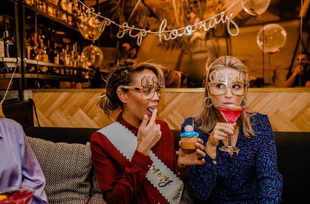 Cocktail babyshower
