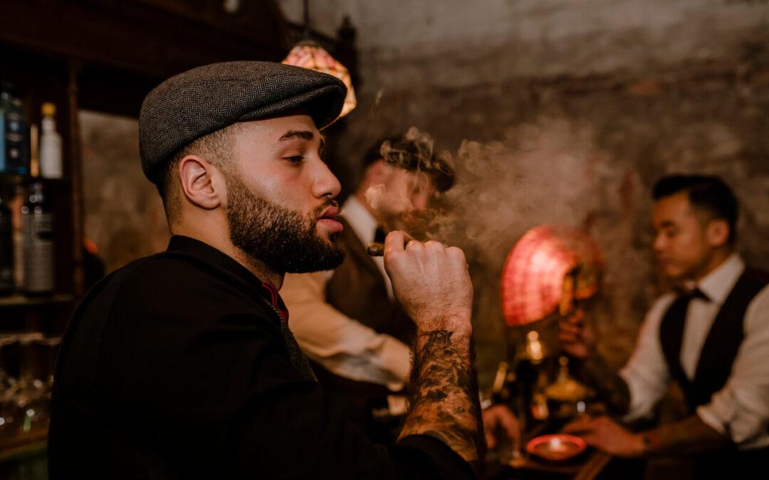 Cigars & whiskey
